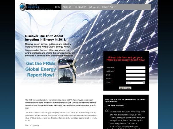 Emerging Energy