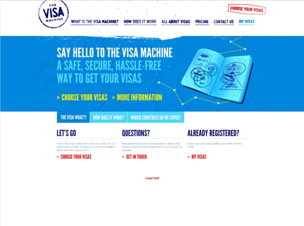 The Visa Machine