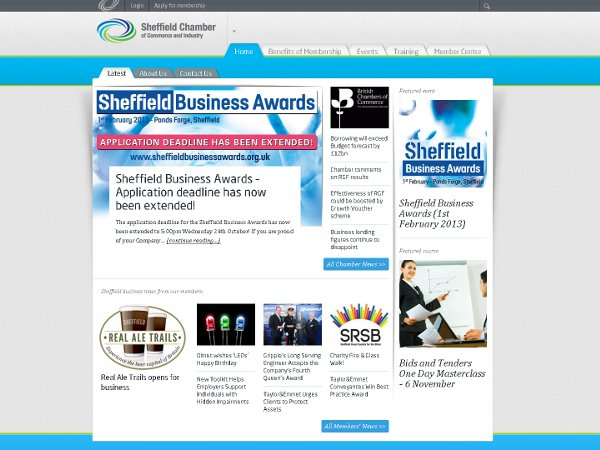 Sheffeild Chamber Of Commerce